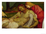 The Entombment from the Isenheim Altarpiece  circa 1512-16