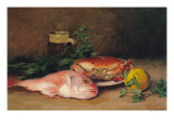 Crab and Red Mullet