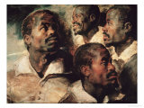 Studies of the Head of a Negro