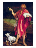 St John the Baptist from the Isenheim Altarpiece  circa 1512-16