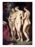 The Medici Cycle: Education of Marie de Medici  Detail of the Three Graces  1621-25