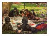 The Picnic  circa 1881-2