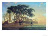 Arab Oasis  1853