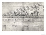 Study of a Pediment from the Parthenon