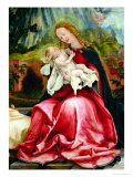 The Virgin and Child  from the Isenheim Altarpiece  circa 1512-16