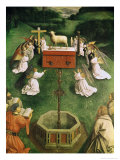 Copy of the Adoration of the Mystic Lamb  from the Ghent Altarpiece  Lower Half of Central Panel