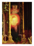 The Virgin Illuminated  Detail from the Concert of Angels from the Isenheim Altarpiece