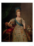 Louis XV as a Child  1714