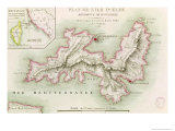 Map of the Island of Elba  1814