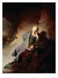 Jeremiah Mourning Over the Destruction of Jerusalem  1630