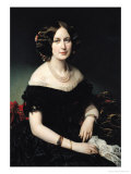 Portrait of the Baroness of Weisweiller  1853