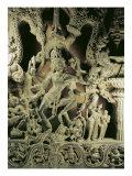 Lintel with Shiva Nataraja  Kakatiya Dynasty
