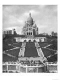 Basilica of Sacre-Coeur  Montmartre  1876-1910