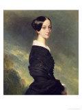 Portrait of Francisca Caroline de Braganca 1844