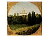 View of the Villa Medici  Rome