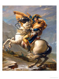 Napoleon Crossing the Alps at the St Bernard Pass  20th May 1800  circa 1800-01