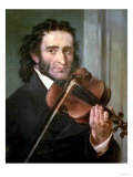 Dortrait of Niccolo Paganini