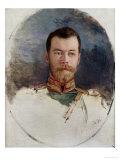 Study for a Portrait of Tsar Nicholas II 1898