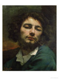 Self Portrait Or  the Man with a Pipe  circa 1846