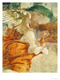 The Annunciation  Detail of the Archangel Gabriel  from San Martino Della Scala  1481