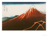 "Fuji Above the Lightning""  from the Series ""36 Views of Mt Fuji"""