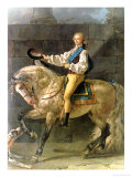 Equestrian Portrait of Stanislas Kostka Potocki 1781