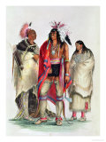 North American Indians  circa 1832