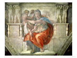 Sistine Chapel Ceiling: Delphic Sibyl
