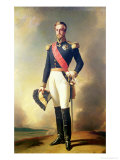 Portrait of Henri-Eugene-Philippe-Louis D'Orleans Duke of Aumale  1846