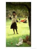 Croquet  circa 1878