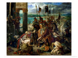 The Crusaders' Entry into Constantinople  12th April 1204  1840