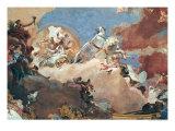 Apollo in His Sun Chariot Driving Beatrice I to Frederick I Barbarossa