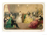 "Concert at the Chausee D'Antin  from the ""Soirees Parisiennes"" Series"