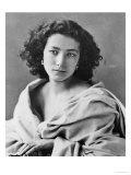 Sarah Bernhardt in Costume  circa 1860