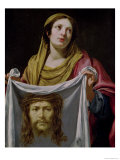 St Veronica Holding the Holy Shroud
