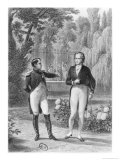 Meeting Between Napoleon I and Benjamin Constant de Rebecque from &quot;Memoires D&#39;Outre-Tombe&quot;