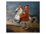 Equestrian Portrait of Louis XVI 1791