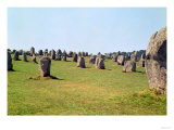 Alignment of Standing Stones  Megalithic Period  4th-3rd Millennium BC