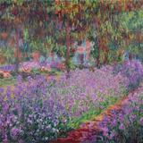 Le jardin de l'artiste à Giverny, 1900 Giclée par Claude Monet