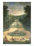 The Groves of Versaille  View of the Three Fountains with Venus and Cherubs  1688