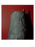 Vase  from Uruk 3rd Millennium BC