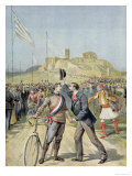 "The Olympic Games in Athens  from ""Le Petit Journal""  26th April 1896"