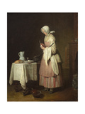 The Attentive Nurse  circa 1738