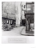 Rue de La Montagne Sainte-Genevieve  Paris  1858-78