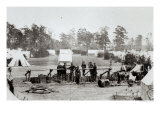 Yankee Headquarters  Camp Whinfield  3rd May 1862