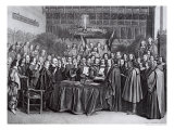 The Swearing of the Oath of Ratification of the Treaty of Westphalia at Munster  24th October 1648