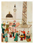 A Bazaar in Istanbul  circa 1580
