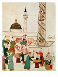 A Bazaar in Istanbul  circa 1580