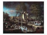 Exhumation of Martodonte  Baltimore  1799