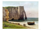 The Cliffs at Etretat  1869